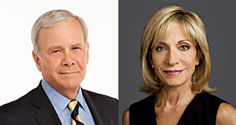 Guest Speaker Tom Brokaw and Emcee Andrea Mitchell