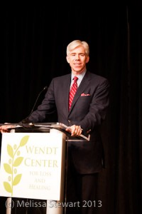 Emcee David Gregory