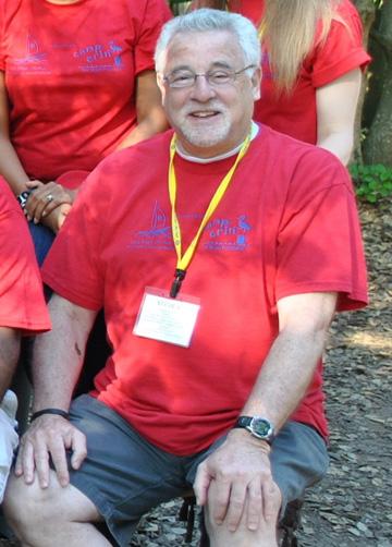 Steve Asher at Camp Erin