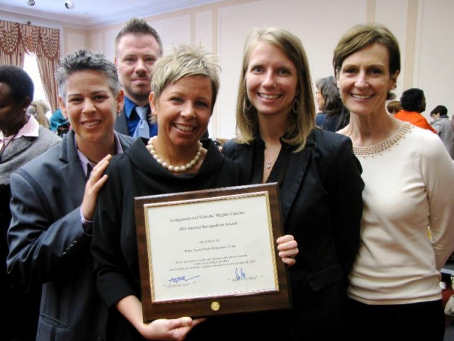 Congressional award presented to the Wendt Center