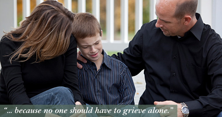 Help for families struggling with grief