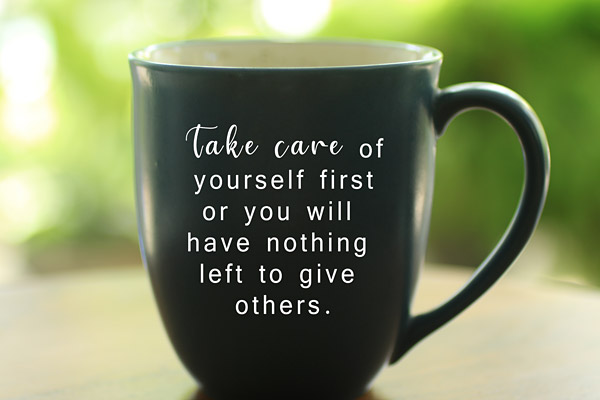 Take care of yourself mug