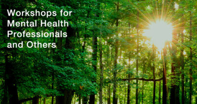 Workshops for Mental Health Professionals and others